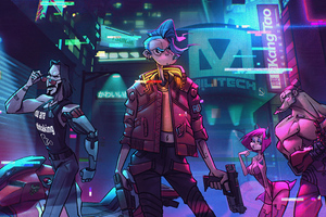 Cyberpunk 2077 Game Illustration 5k Wallpaper