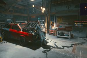 Cyberpunk 2077 Garage