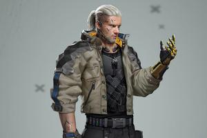 Cyberpunk 2077 Geralt 4K