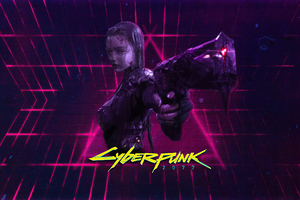 Cyberpunk 2077 Girl 4k 2021 Wallpaper