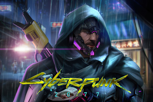 Cyberpunk 2077 Guy Wallpaper