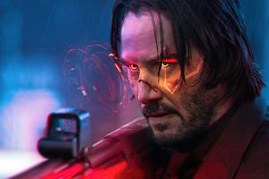 Cyberpunk 2077 John Wick 5k