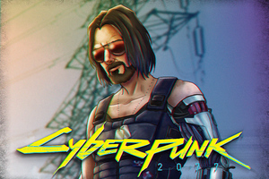 Cyberpunk 2077 Johnny Silverhand 2020 Wallpaper