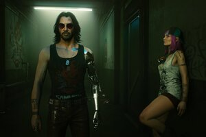 Cyberpunk 2077 Johnny Silverhand 4k Game 2021