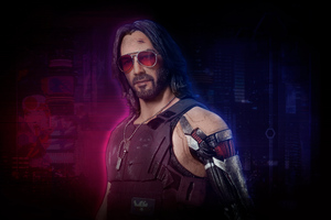 Cyberpunk 2077 Johnny Silverhand 5k Wallpaper