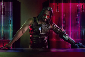 Cyberpunk 2077 Johnny Silverhand Game Wallpaper