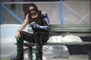 Cyberpunk 2077 Keanu Reeves 4k 2020 Wallpaper