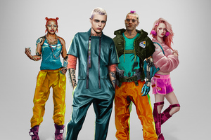 Cyberpunk 2077 Kitsch Characters