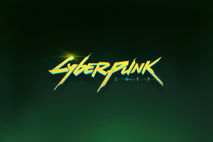 Cyberpunk 2077 Logo 5k Wallpaper