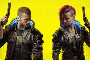 Cyberpunk 2077 Male And Female V 5k
