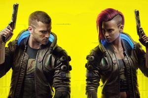 Cyberpunk 2077 Male And Female V 5k Wallpaper
