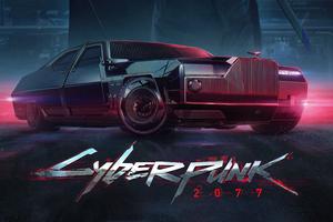 Cyberpunk 2077 Poster 4k Wallpaper