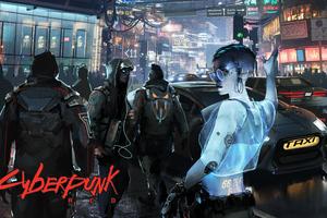 Cyberpunk 2077 Red 4k