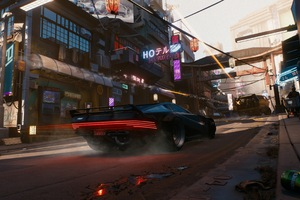 Cyberpunk 2077 Scifi Vehicles 4k