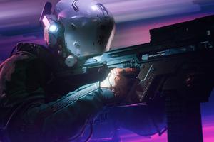 Cyberpunk 2077 Shooter 5k