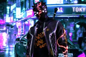 Cyberpunk 2077 Tokyo Street 4k Wallpaper