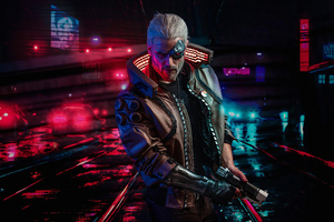 Cyberpunk 2077 Witcher Wallpaper