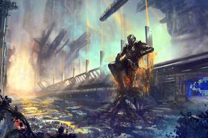 Cyberpunk Boss 4k