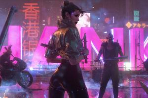 Cyberpunk Chinese Kungfu 4k Wallpaper