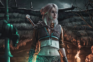 Cyberpunk Ciri The Witcher 3 4k