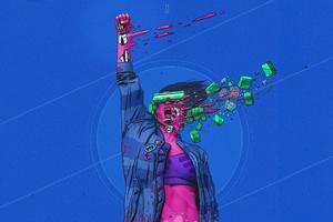 Cyberpunk Digital Art 4k