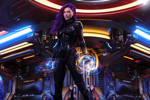 Cyberpunk Girl 2020 4k Wallpaper