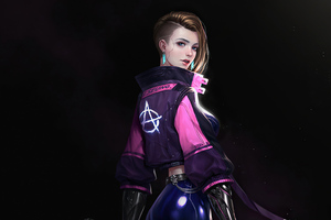Cyberpunk Girl 2020