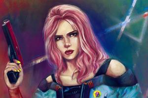 Cyberpunk Girl 2077