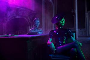 Cyberpunk Girl 4k