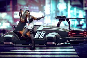 Cyberpunk Gunner 5k