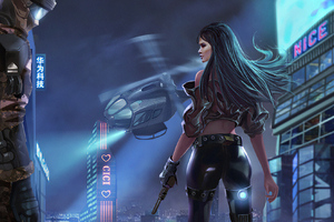 Cyberpunk Mission