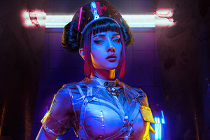 Cyberpunk Nurse