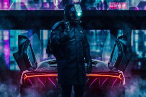 Cyberpunk Rider