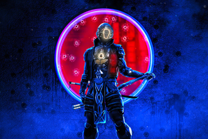 Cyberpunk Samurai 4k 2021