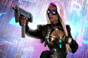 Cyberpunk Scifi Girl 5k