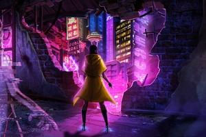 Cyberpunk Secret Agent 4k