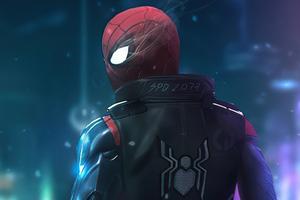 Cyberpunk Spider Man 4k