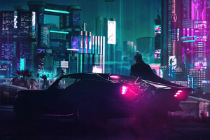 Cyberpunk X The Batman 4k Wallpaper
