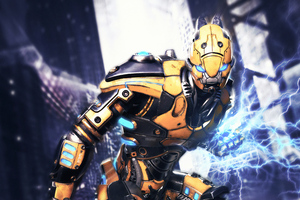 Cyborg 4k New Wallpaper