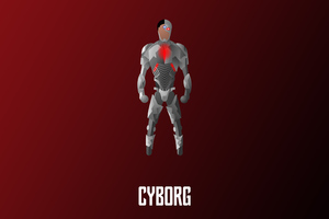 Cyborg Illustration 4k Wallpaper
