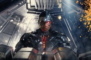 Cyborg Justice League Hd Wallpaper