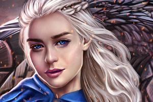 Daenerys Targaryen Fan Artwork