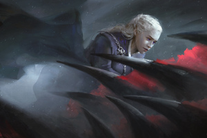 Daenerys Targaryen Game Of Thrones Dragon Artwork