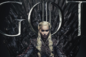 Daenerys Targaryen Game Of Thrones Season 8 Poster