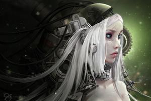 Daenerys Targaryen Robotic Art