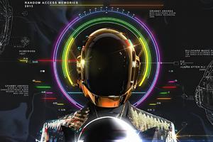 Daft Punk Au Revoir Wallpaper