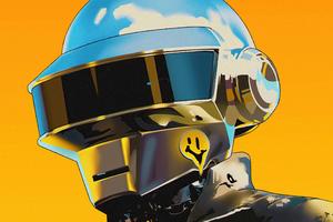 Daft Punk Robo Wallpaper