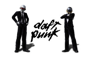 Daft Punk Typo Wallpaper