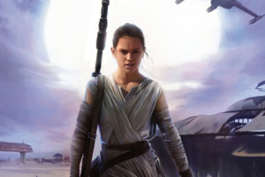 Daisy Ridley Star Wars The Force Awakens Wallpaper