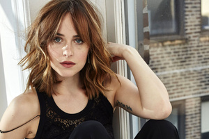 Dakota Johnson in 2017